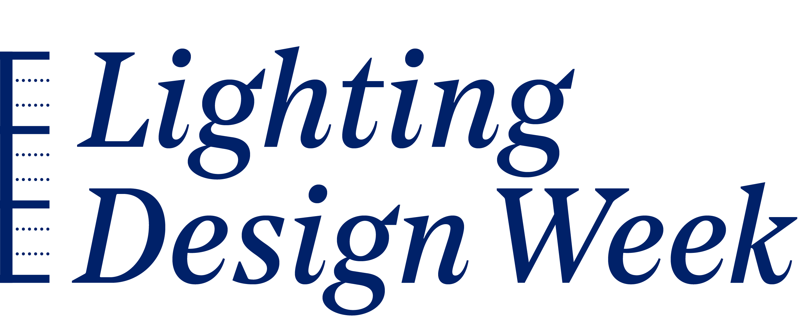 Lighting Design Week
